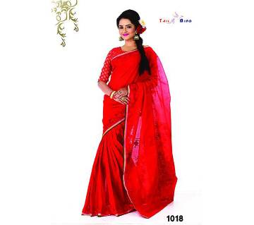 Pure Cotton Sharee with Blouse Piece