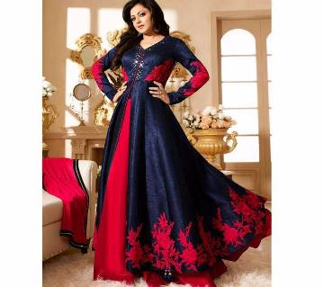 Dhupian Embroidery Anarkali Suit - (Copy)