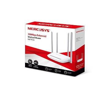 Mercusys Router Wi-Fi / Wireless-300Mbps (4 Antenna)