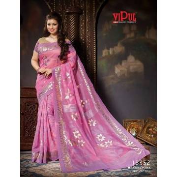 Vipul Indian Silk Saree for Women SS36