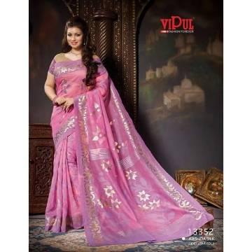 Vipul Indian Silk Saree for Women SS36