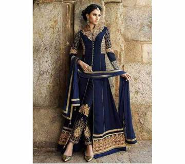 Anarkali Semistitched Indian georgette Three piece copy