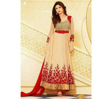 Semistitched Georgette Three piece (copy)
