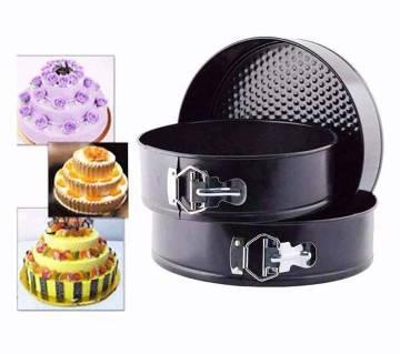 3 pcs round shaped cake mould