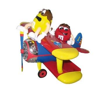 M&M Airplane ডিসপেন্সার চকলেট - 45gm