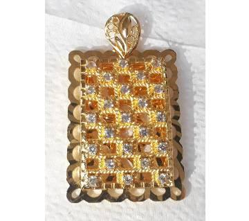 Ladies Gold Plated Stone Setting Locket