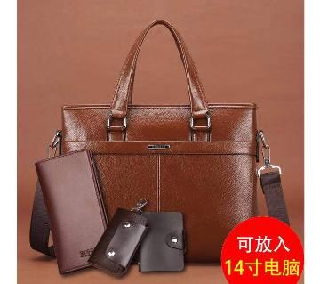4 in 1 Korean Briefcase bag
