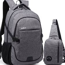 2 in 1 Korean Travel Backpack
