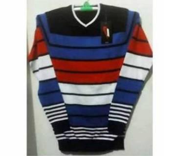 Gents Full Sleeve V-Neck Sweater