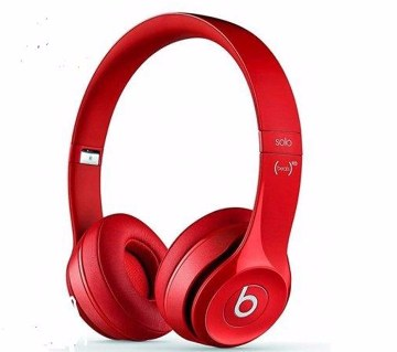 Beats Solo 2 Headphone Red