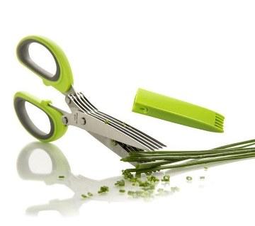 5 layers kitchen scissors
