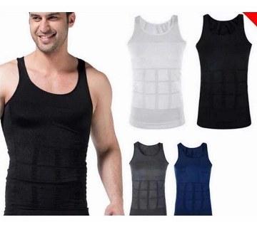 SLIM N LIFT Slimming Vest for Men (Black)