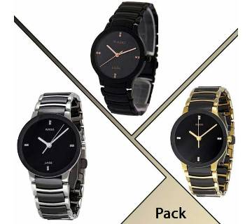 Rado gents wrist watch-3 pcs combo