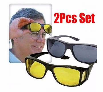 2 in 1 night vision glasses