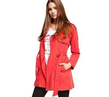 Ladies Winter Long Overcoat