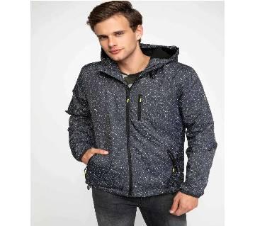 Black Hoodie Jacket for Men