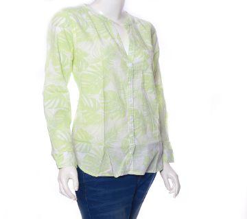 Light Green Stylist Ladies Shirt - 919