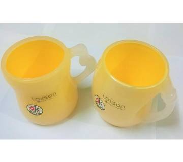 Unbreakable Tea or Coffee Couple Mug  - 2 Piece