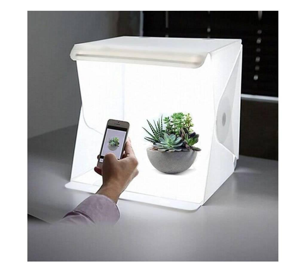 মিনি ফটোগ্রাফী স্টুডিও ফোল্ডিং লাইটবক্স Lightbox LED লাইট বাংলাদেশ - 893413