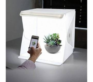 Mini Photography Studio Folding Lightbox LED Light