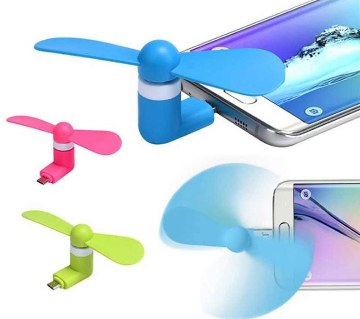 Micro USB & USB Mini Fan