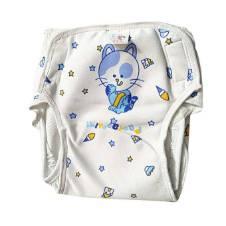 3 PCS Reusable Washable Baby Cloth Nappies Pants