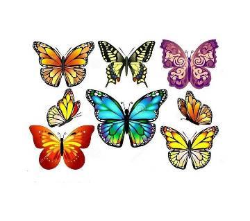 Butterfly ওয়াল স্টিকার ১২ পিস