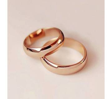 Gold Plated Finger Ring for Couple
