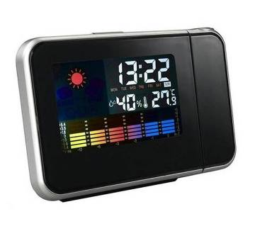 Weather Multi-Functional Projection Alarm Clock