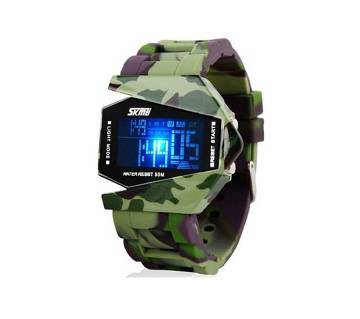 Military Digital Dial LED watch