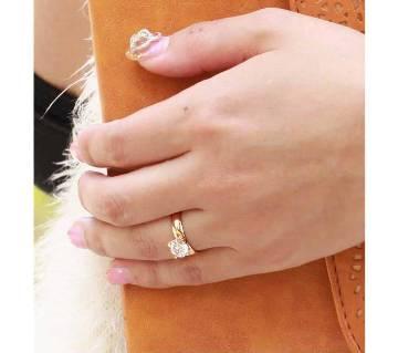 Golden Alloy Finger Ring