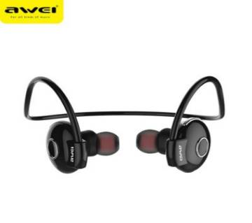 Awei-A845BL Wireless Bluetooth Sport Headphones - Black