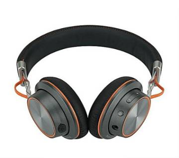 Remax-RB-195HB Bluetooth Headphone With Microphone - Black