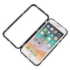 Magnetic Adsorption Metal 360° Case for iphone 8