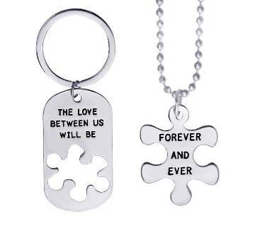 Quotes Pendant & Key Ring