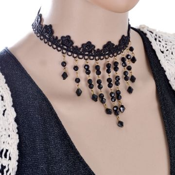 Stone Setting Chokers Necklaces