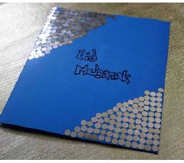 Hand Made Eid greeting cards