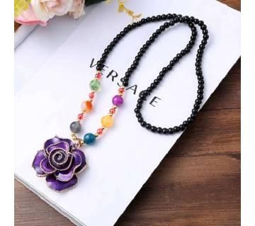 Ladies acrylic pendant