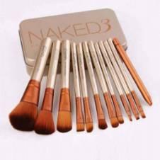 Naked 3 Makeup Brush Set 12pcs - China