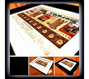 প্রাচীন বাংলার ঐতিহ্য নকশী কাঁথা (ওয়াল ডেকর)