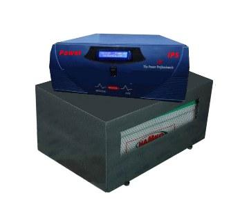 IPS 600VA with Battery (3 Fan+4 light Backup)