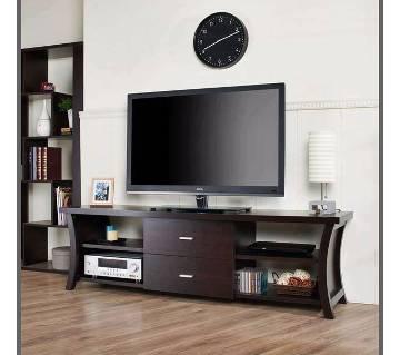 LCD/LED TV উডেন স্ট্যান্ড উইথ শেলফ