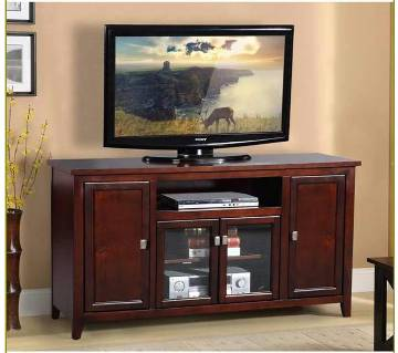 Wooden LED-LCD TV Trolley Stand with Shelf