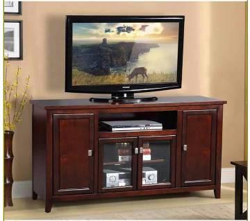 উডেন LED/LCD TV স্ট্যান্ড উইথ শেল্ফ