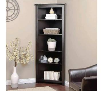 Wooden Corner Wall Shelf