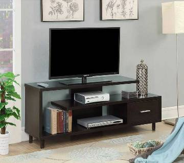 Wooden LED TV trolley