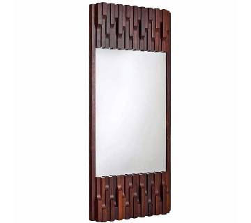Malaysian Wooden Wall Hanging Mirror