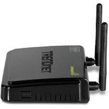 TRENDnet Wireless N300 Router - Black