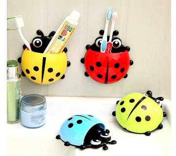 Beetle Shaped Toothbrush Holder - 1 Piece