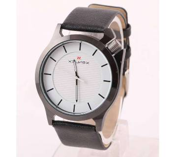 Xenlex Leather gents wrist watch -01